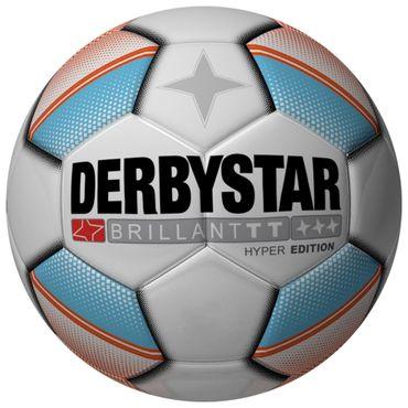 Verschiedene Derbystar Trainingsbälle, zum Beispiel der Derbystar Brillant TT Hyper Edition Trainingsball Gr. 5