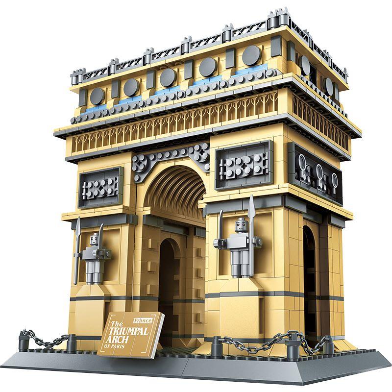 [Klemmbausteine] Architektur Triumphbogen von Wange aus DE mit org. Verpackung