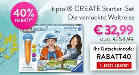 Tiptoi Create Starter-Set Weltreise / Gravitrax Starter Set