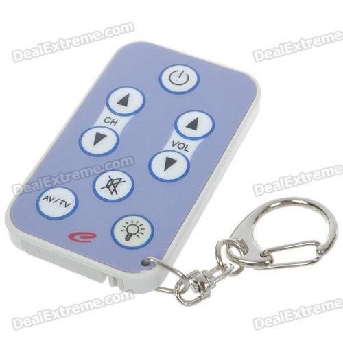 (CN) Einfache Universal-TV-Fernbedienung ( für z.B. alte Menschen) @dx.com für 2,75€ inkl. VSK