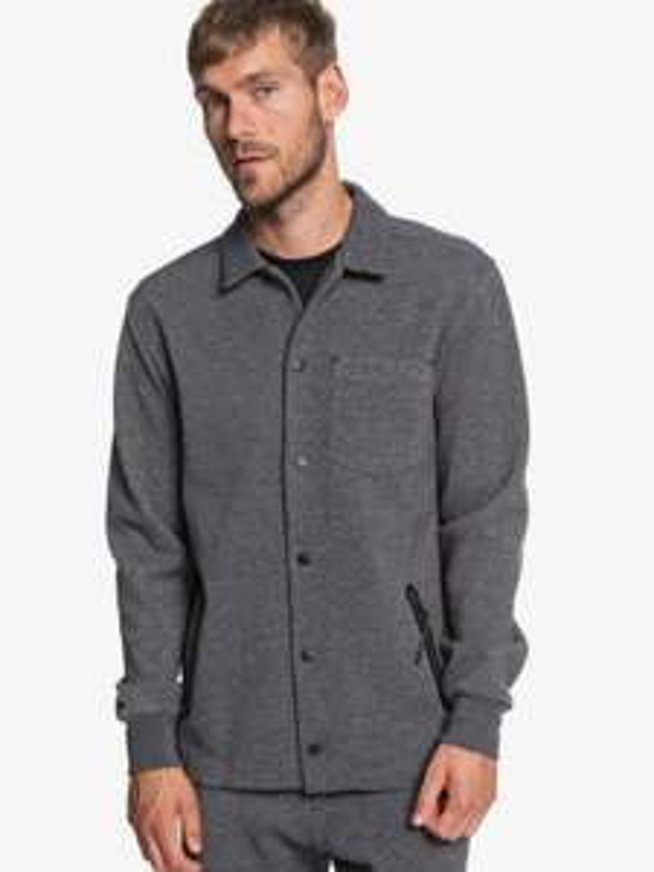 25% extra Rabatt auf bis zu 60% Sale bei Quiksilver, Roxy & DC Shoes, z.B. Adapt - Wasserabweisende, gebondete Hemdjacke für Männer