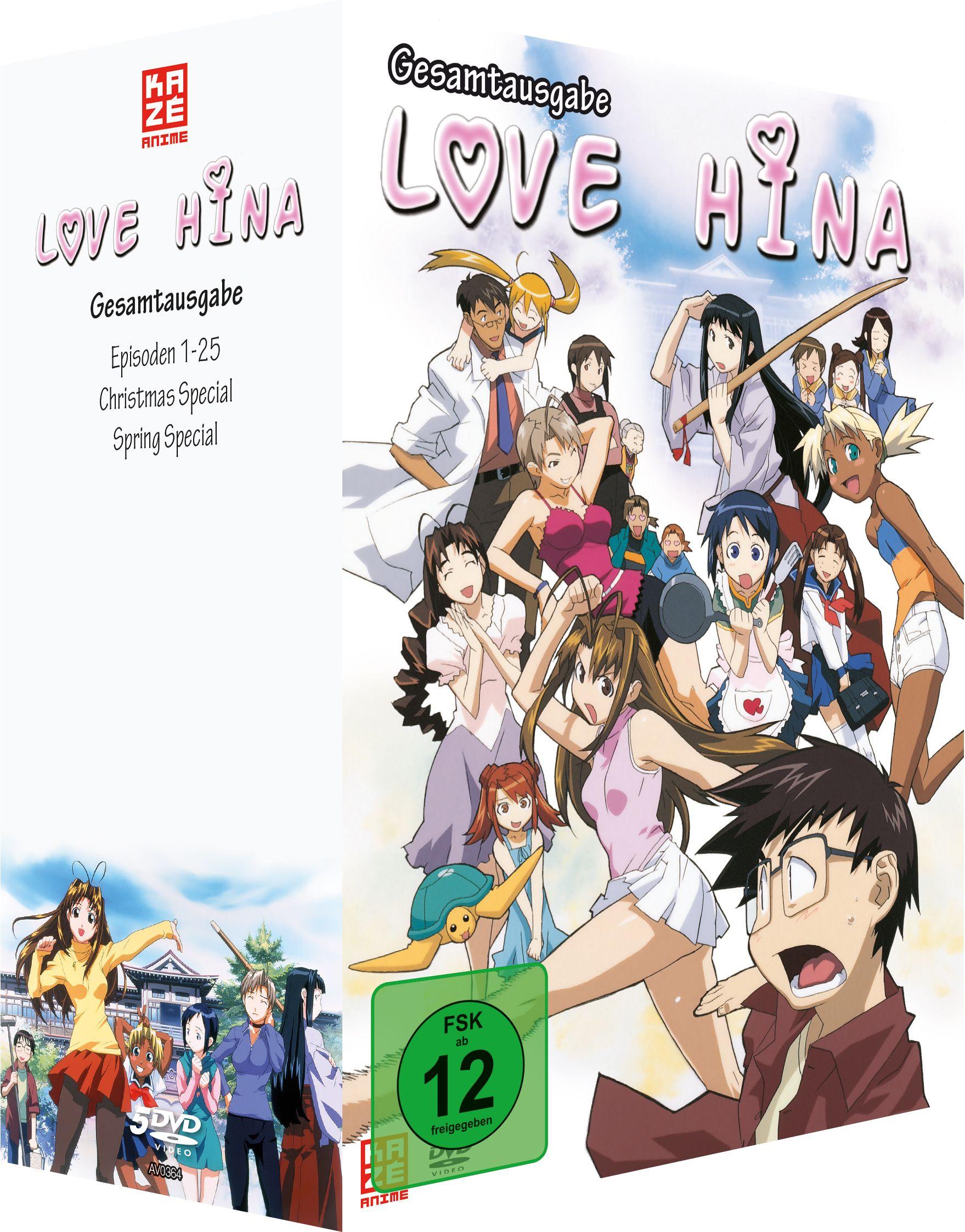 Love Hina - Gesamtausgabe [9 DVDs]