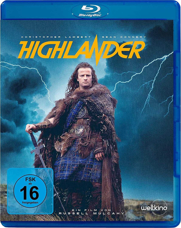 Highlander (Blu-ray) für 4,79€ (Amazon Prime)