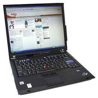"[eBay.de] IBM ThinkPad T60 - Core 2 Duo 1,83 Ghz, 2 GB RAM, 100 GB HDD, 14"" 1400x1050 TFT - A-Ware für €189,05 inkl. Versand"