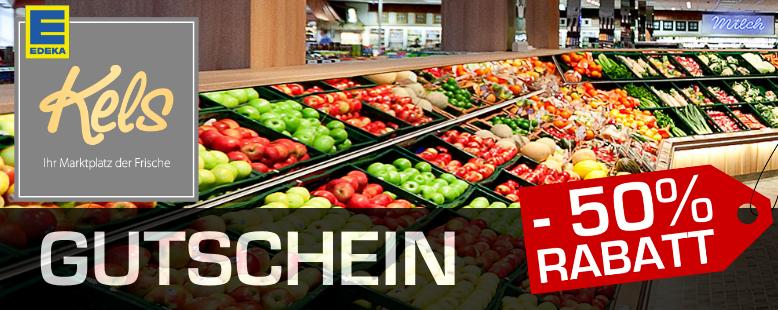 EDEKA Kels Mülheim/Essen/Ratingen 50€ Einkaufsgutschein für 27,90€ bei Radiosparbox am 03.04. 13 Uhr