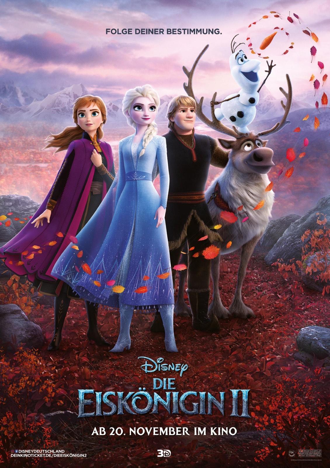 Die Eiskönigin 2 [iTunes & Amazon] HD (Leihfilm)