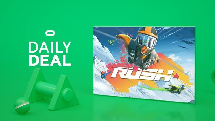 Rush für Occulus Quest als Daily Deal im Oculus Store für 14,99 EURO statt 19,99 EURO