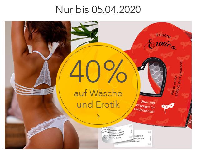 [Baur] 40% Rabatt auf Wäsche, Bademode und Erotik