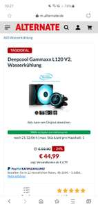 Deepcool Gammaxx L120v2 All in one Wasserkühlung