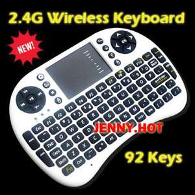 Rii Mini i8 2.4GHz USB Wireless Keyboard und Touchpad (passend zum Android-Tv-Stick-Deal)