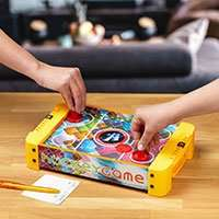 Bastelmaterial & Co fürs Home Office / Schooling bei [Druckerzubehör] ab 19,99€ 3 Gratisartikel: Air Hockey Spieltisch / Stift / Zettelbox