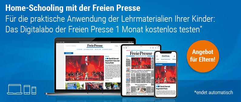 Freie Presse einen Monat gratis und Endet automatisch!