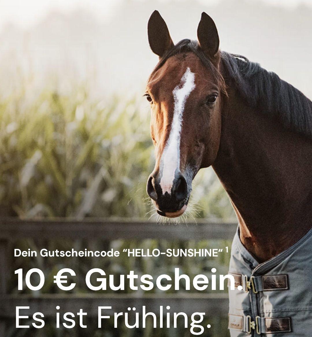 10€ Rabatt ab MBW 50€ bei Equiole (Pferd und Hund)