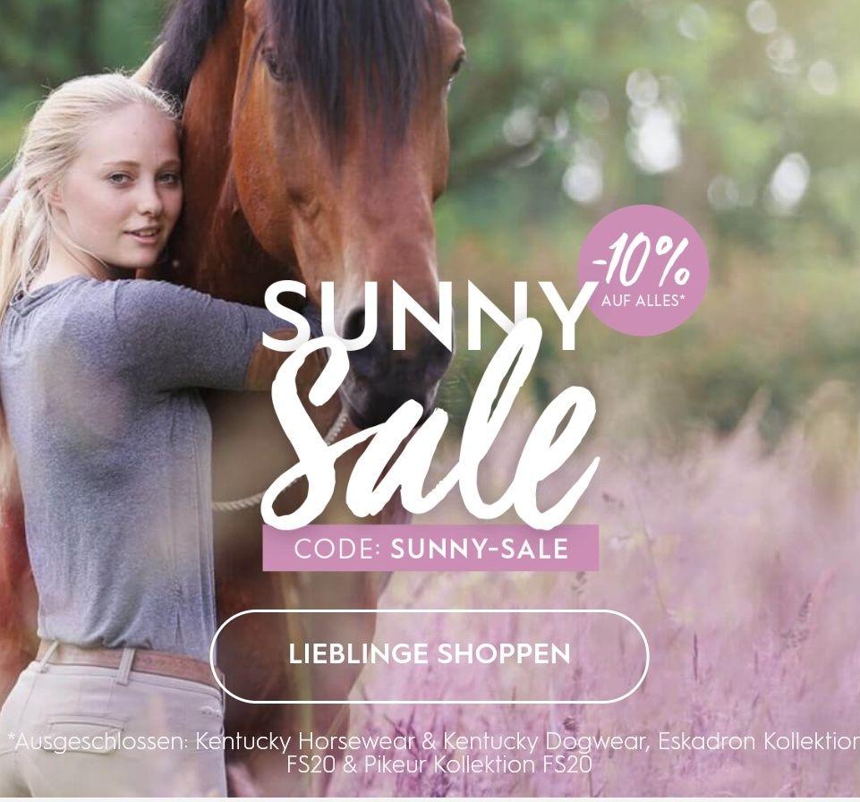 """10% auf """"alles"""" für Pferd, Reiter und Hund bei kavalio"""