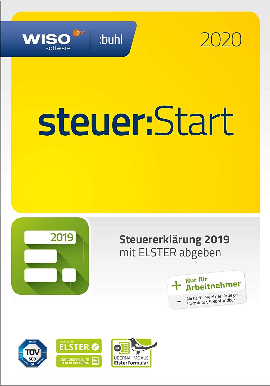 WISO steuer:Start 2020 (Frustfreie Verpackung) [Amazon Prime]