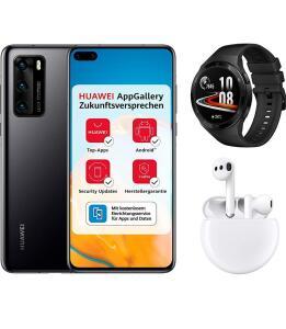 Huawei P40 128GB + Huawei Watch GT 2E + FreeBuds 3 + €5 Amazon Gutschein
