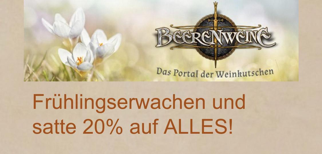 20% auf Alles - Beerenweine.eu