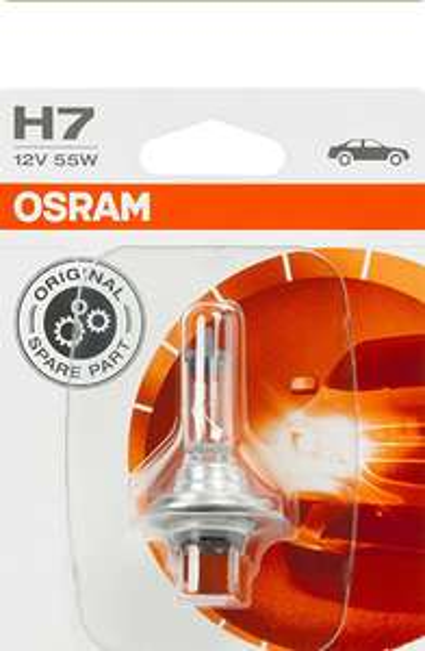 Osram Original H7 Halogen-Scheinwerferlampe (Amazon Prime)