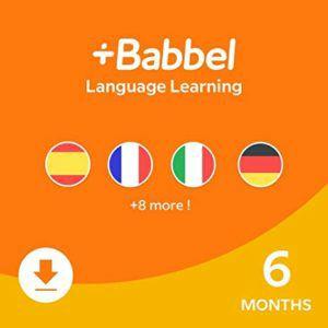 Babbel - 12 Monate zum Preis von 6 Monaten durch kostenlose Verlängerung
