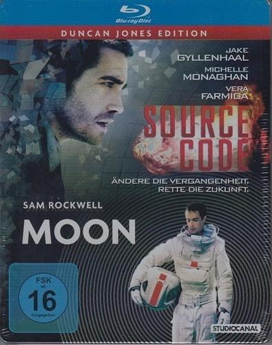Duncan Jones Edition - Source Code / Moon Steelbook BLU-RAY für 14,99 + 2,50€ Versand oder ab 20€ versandkostenfrei