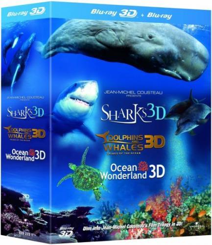 Jean-Michel Cousteau Film-Trilogy 3D (Blu-ray 3D) @ THE HUT *deutsche Tonspur*IMAX