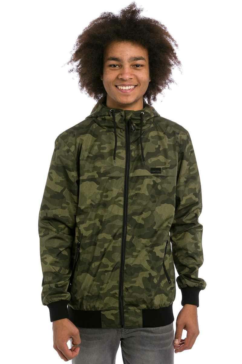 Iriedaily Gridstop Jacke Herren, Camouflage