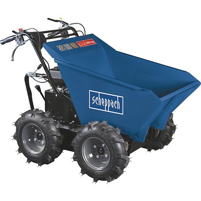 Scheppach Dumper DP3000 4x4 Muldenkipper 999€ bei Netto, VGP 11.04-25.04.20 online bei Bauhaus 1.028,90€