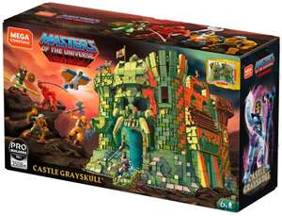Klemmbausteine Mega Construx Castle Grayskull He Man Amazon UK 162,15€ inkl. Versand