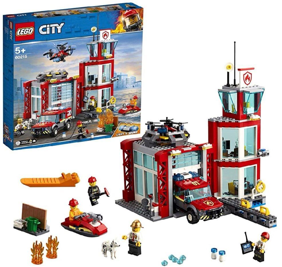 [AMAZON / Müller] LEGO City Feuerwehrstation 60215, 35,99€ möglich