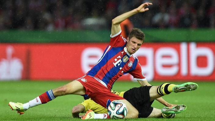 Pokalfinale 2014: Bayern München gegen BVB (nur noch heute?)