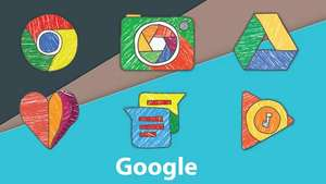Crayonic Icon Pack - Android
