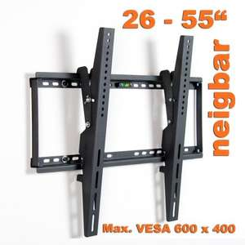 LCD / Plasma TV Wandhalterung 26 - 55 Zoll, max VESA 600 x 400 mm für 13,99 EUR inkl. Versand!