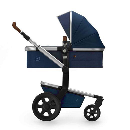 Joolz Day³ Kinderwagen Classic Blue 2020 Sportwagensitz und Babywanne + Gratis Fußsack