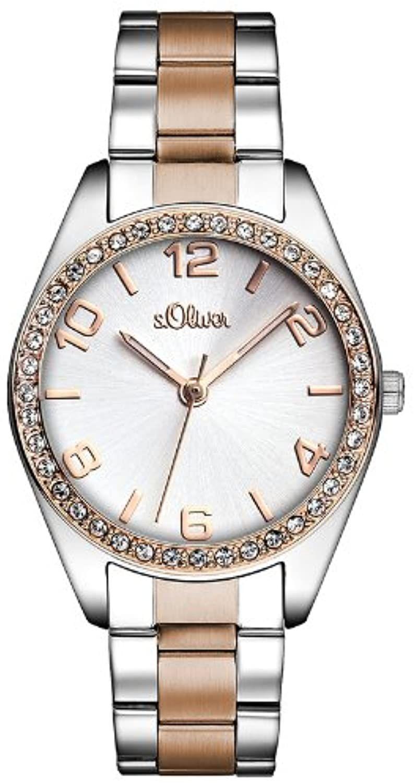 S. Oliver Time Damen Quarz Uhr mit Edelstahl Armband Amazon