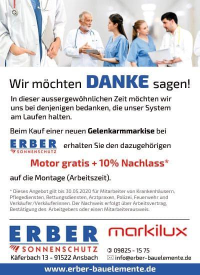 Markilux Markise Gratis Motor & 10% Rabatt auf Montage [Pflegerdeal]