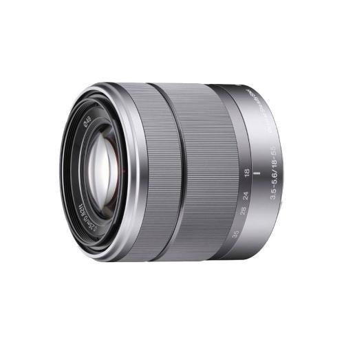 Sony SEL-1855 18-55mm E-Mount Objektiv silber