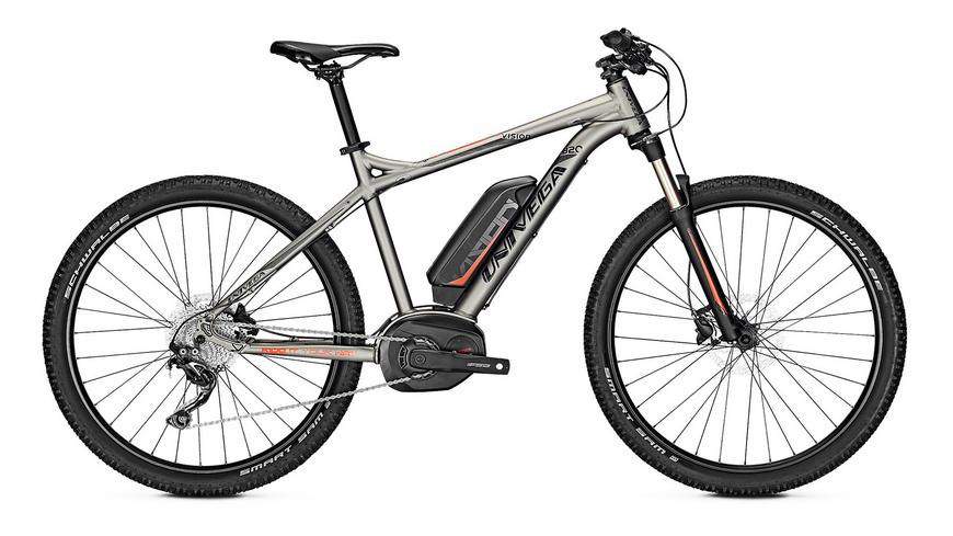 BOC: E-Bike UNIVEGA VISION B 2.0 13,4 AH 27 ZOLL, ALU, SHIMANO DEORE, 10-G