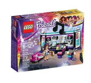 [REAL] Lego 41103 Friends Popstar - Aufnahmestudio