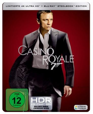 James Bond 007: Casino Royale 4K Steelbook [Media-Dealer]