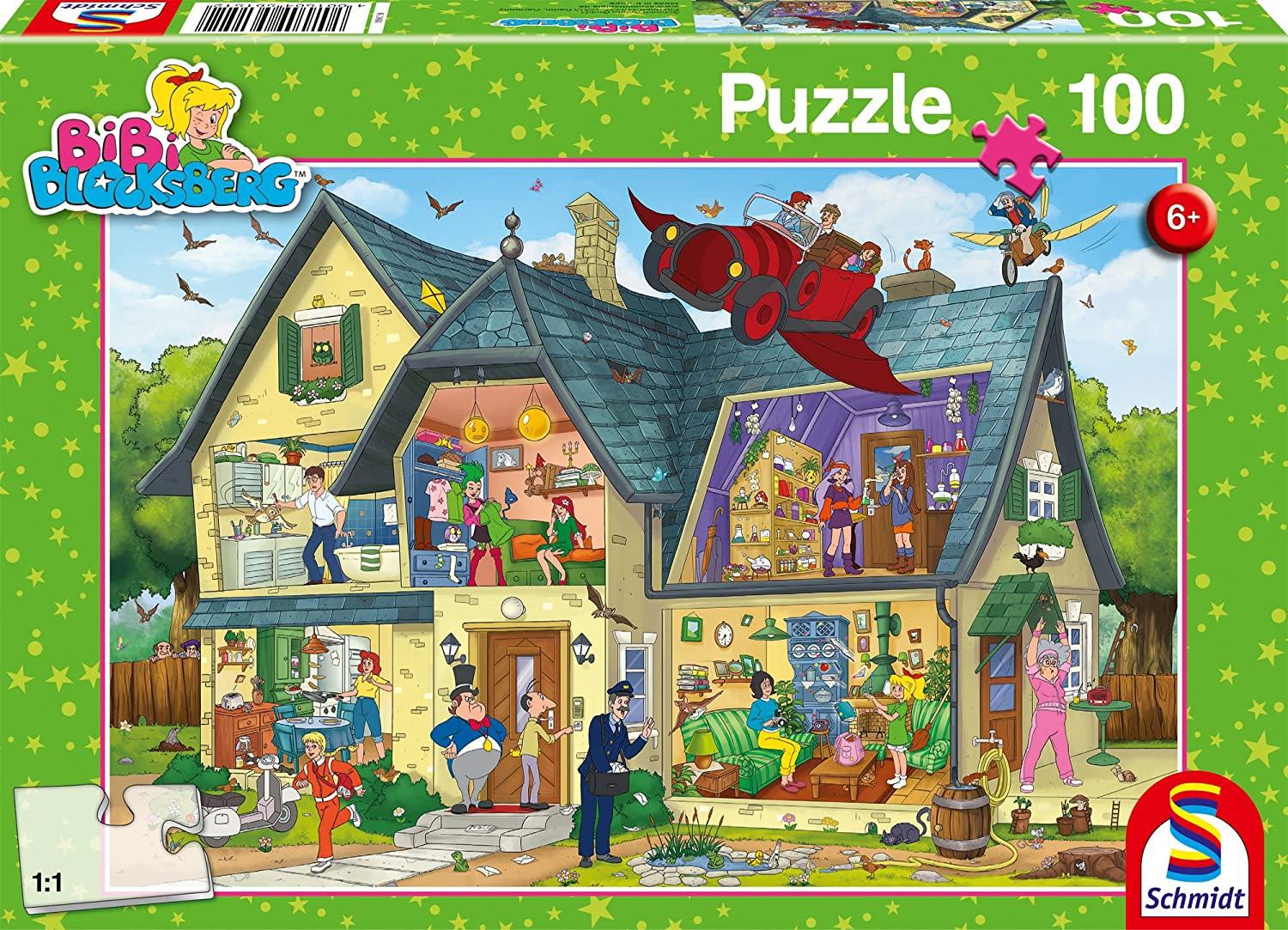 Schmidt Spiele Bibi, Blocksbergs ist was los, 100 Teile Kinderpuzzle für 4,99€ (Amazon Prime)