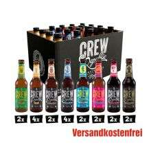 Crew Republic Biere z.B. Drunken Sailor IPA oder Foundation 11 - German Pale Ale