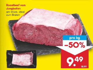 [NETTO MD] Roastbeef 9,49€/kg nur am 05.06.20