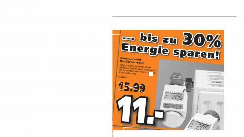 Elektronischer Heizkörperegler Im Globus Baumarkt Dietzenbach ( Bundesweit ? ) 11,00€