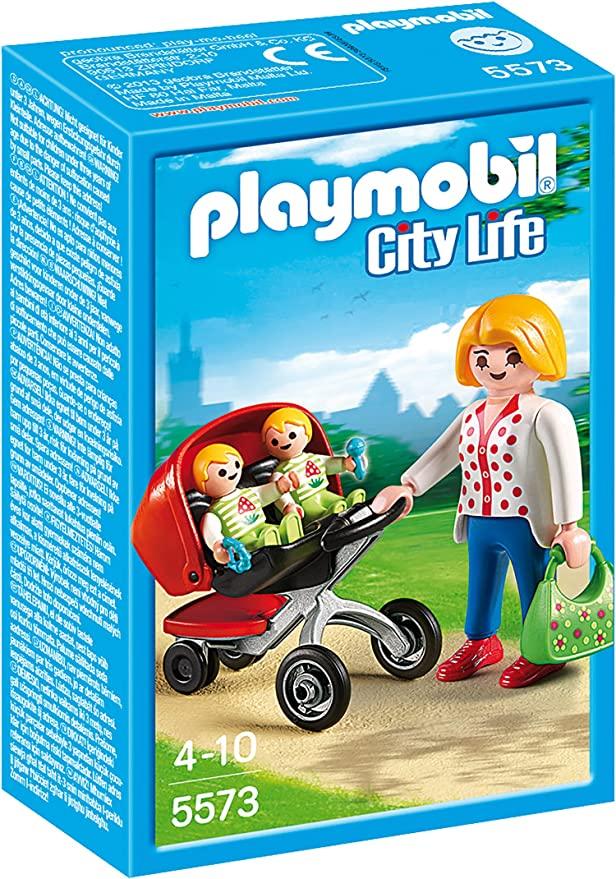 [Amazon.de] Playmobil 5573 Zwillingskinderwagen für 2,99 € inkl. Versand (Prime)