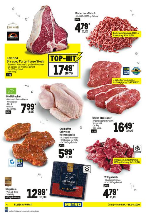 [Metro] Emsrind Dry aged Porterhouse Steak für €18,71/kg