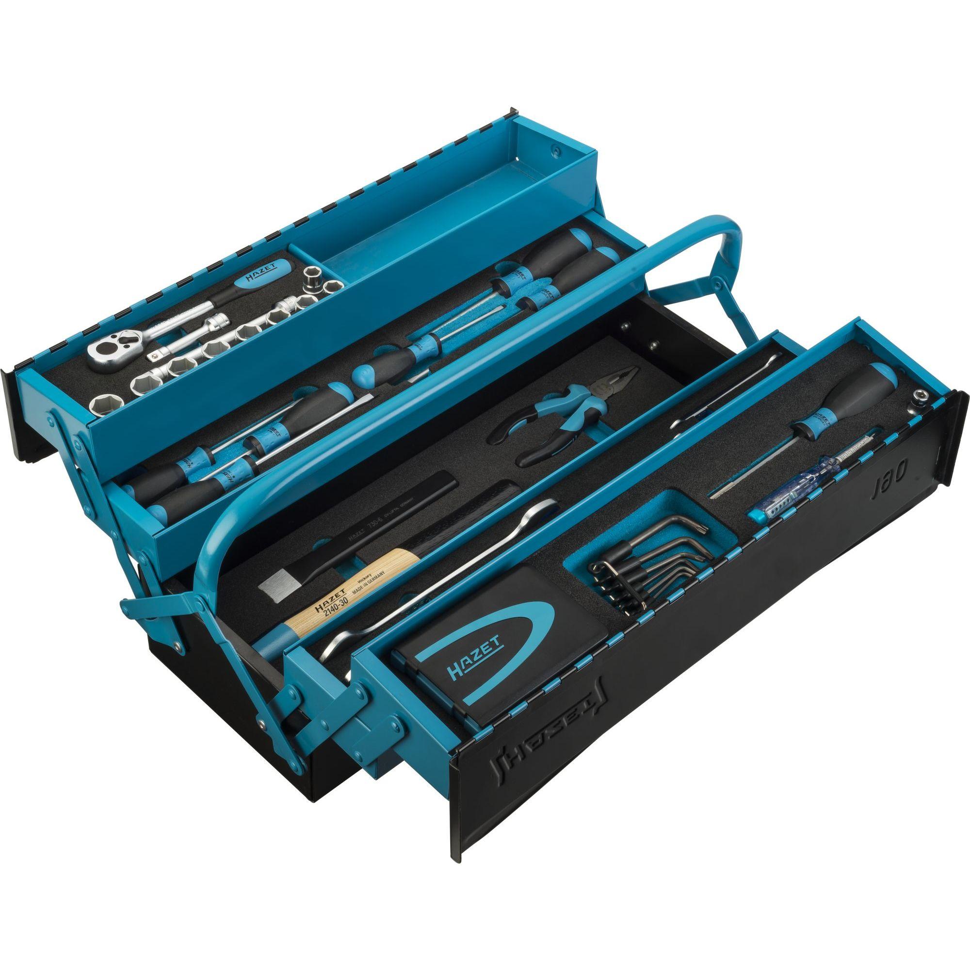 HAZET Metall-Werkzeugkasten 79-teilig 190/79