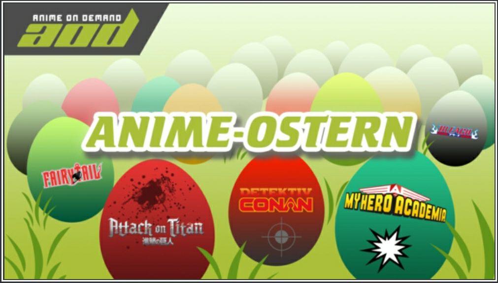 ANIME-OSTERN AUF AOD gratis zugang zum gesamten Anime Katalog von Anime-on-Demand