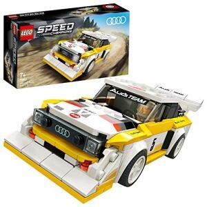 LEGO 76897 Speed Champions 1985 Audi Sport Quattro S1 für 15,70€ (Amazon Prime & Real Abholung)