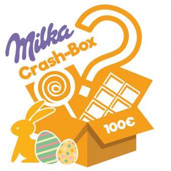 Milka Schokoladenbox im Wert von 100€ für 35,98€