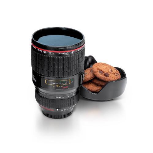 "Trinkbecher in Objektivform - ""Thumbs Up CAMCUP lens mug"" - thehut - 5,81€"